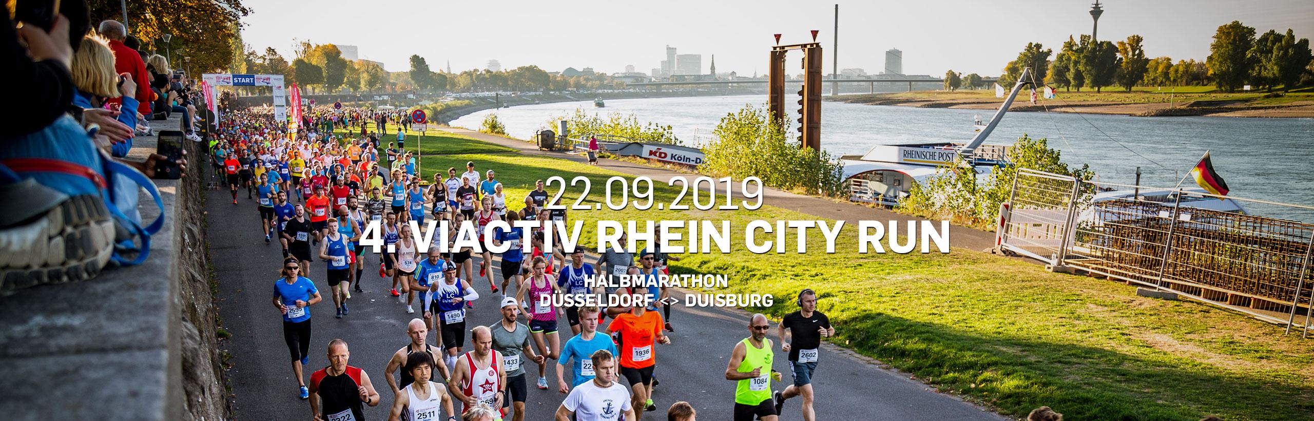 VIACTIV Rhein City Run Halbmarathon